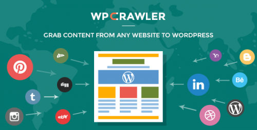 Nulled WP Crawler v1 1 3 – Grab Any Website Content To