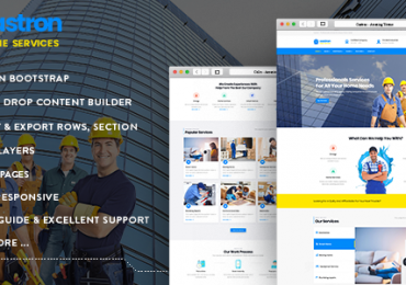 Wunderkind one page parallax drupal 7 theme free download.