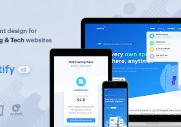 Nulled Hostify – Hosting HTML & WHMCS Template Download